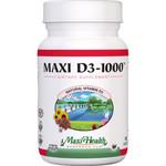 Maxi Health Kosher Vitamins Maxi D3 1000 IU (1x90 Tablets)