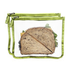 Blue Avocado Lunch Zip Bag Kiwi (1x2 Count)