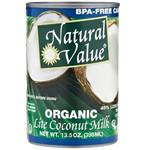 Natural Value Organic Coconut Milk Lite (12x12/13.5 Oz)