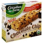 Cascadian Farms Chocolate Chip Granola Bar (6x7.4 Oz)