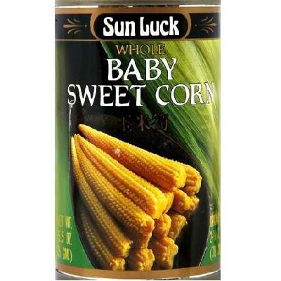 Sun Luck Baby Corn Whole (12x5.5OZ )