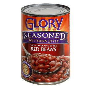 Glory Foods Red Beans Ssnd (12x15OZ )