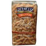 De Lallo Fusilli Whole Wheat Pasta #27 (8x1 LB)