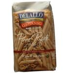 De Lallo Penne Rigate Whole Wheat Pasta (8x1 Lb)