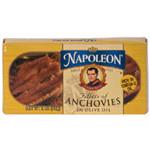 Napoleon Co. Anchovies Flat (1x2OZ )