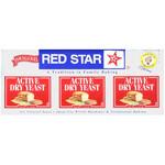 Red Star Nutional Yeast Baking Yeast Packet Display ( 18x.75 Oz)