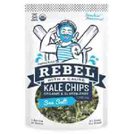 Rebel With A Cause Kale Chips, Sea Salt (12x1.3 OZ)