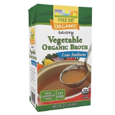 Field Day Veget Broth Ls (12x32OZ )