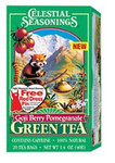 Celestial Seasonings Pomegranate Green Tea(6x20 Bag)
