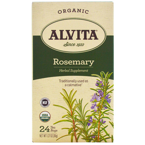 Alvita Tea Organic Rosemary Herbal (1x24 Bags)