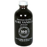 Morton & Bassett Pure Vanilla Extract  (3x3/4 Oz)
