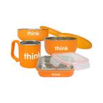 Thinkbaby Feeding Set BPA Free Orange