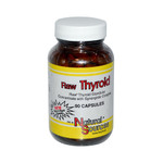 Natural Sources Raw Thyroid (90 Capsules)