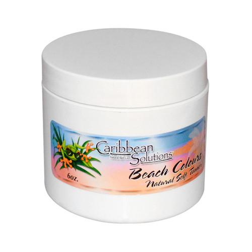 Caribbean Solutions Beach Colours Natural Self Tanner (1x6 Oz)