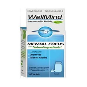 Heel WellMind Mental Focus Tablets (1x100 TAB)