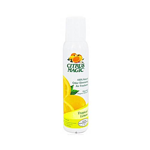 Citrus Magic Tropical Lemon Air Freshener-Non-Aerosol Spray 3.5 Oz (6 Pack)