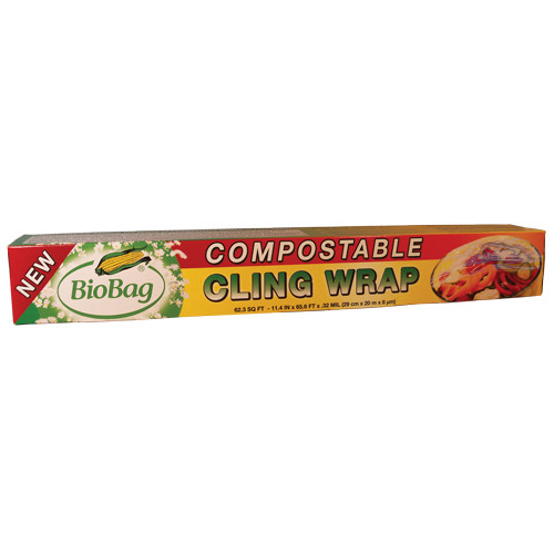 Biobag Cling Wrap Compost (1x62.3FT)