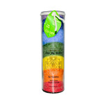 Aloha Bay Unscented Chakra Jar Rainbow Sri Yantra 7 Color (1 Candle)