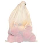 ECOBAGS Drawstring Produce Gauze Produce Bag Full Size (10 Bags)