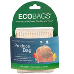 ECOBAGS Market Collection Organic Net Drawstring Bag Large (10 Bags)