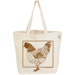 ECOBAGS Farmers Market Tote Chicken (10 Bags)