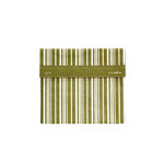 Lunchskins Sub Bag Green Vertical Stripe