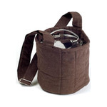 To-Go Ware 2 Tier Cotton Carrier Bag Brown