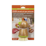 Full Circle Home Tater Mate Potato Brush with Eye Remover (6 Pack)