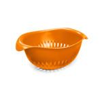 Preserve Small Colander Orange 1.5 qt