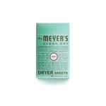 Mrs Meyers Dryer Sheets Basil (1x80 CT)