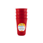 Preserve Everyday Cups Pepper Red (1x4 Count)