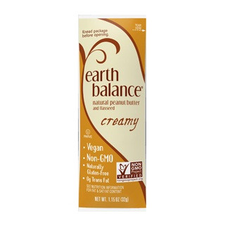 Earth Balance Peanut ButterxFlaxseed Creamy (6x10x1.15 OZ)