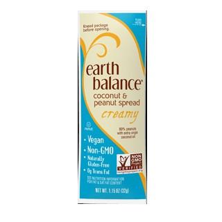 Earth Balance Coconut Peanut Spread Creamy (6x10x1.15 OZ)