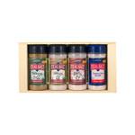 Real Salt Seasoning Gift Set 4 Piece Set