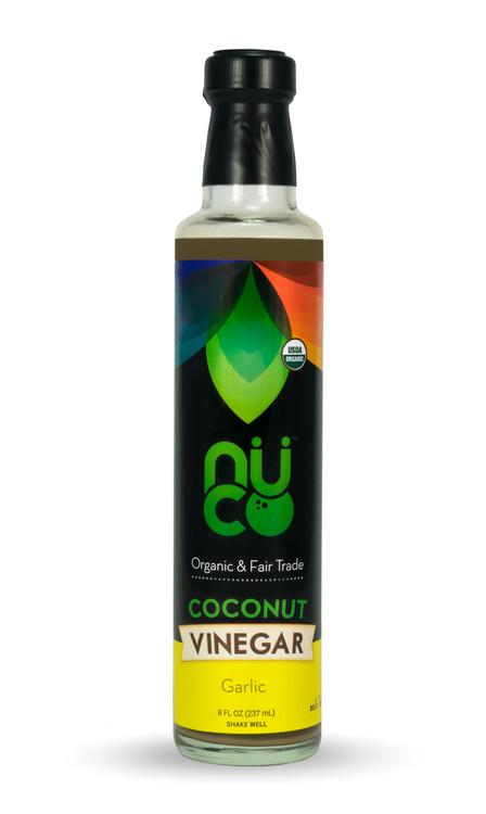 NUCO Organic Coconut Vinegar, Garlic