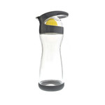 Full Circle Home On the Go Lemon Glass Water Bottle Blackberry