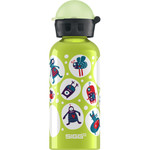 Sigg Water Bottle Glo Monster Lime .4 Liter