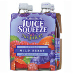 Crystal Geyser Wild Berry Squeeze (6x4Pack )