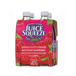 Crystal Geyser Mt Raspberry Squeeze (6x4Pack )