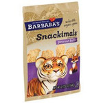 Barbara's Bakery Peanut Butter Snackimals (6x7.5 Oz)