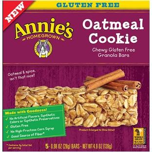 Annie's Homegrown Oatmeal Cookie (12x5x.98 OZ)