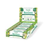 Macrolife Naturals Apple Lemon Ginger Macro Green Bar (12 pack)