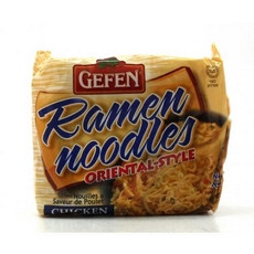 Gefen Oriental Style Chicken Flavor Ramen Noodles (24x3Oz)