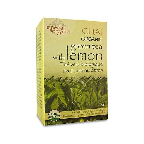Uncle Lee's Tea Organic Imperial Lemon Chai (1x18 Bags)