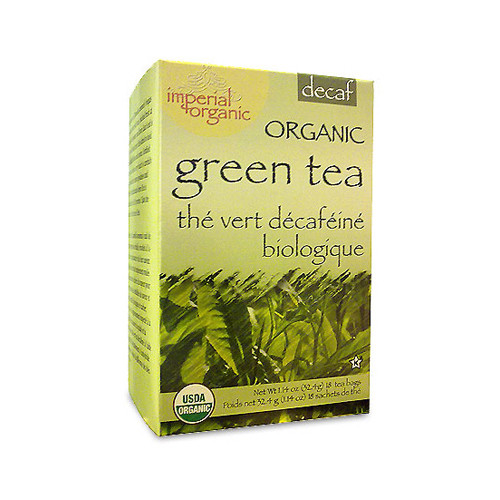 Uncle Lee's Tea Organic Imperial Decaffeinated Green Tea (1x18 Bags)