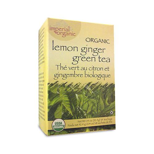 Uncle Lee's Tea Organic Imperial Lemon Ginger (1x18 Bags)