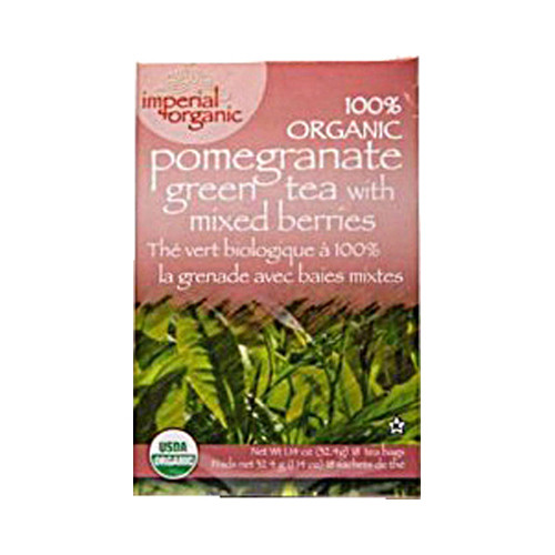 Uncle Lee's Imperial Organic Pomegranate Green Tea with Mixed Berries (1x18 Tea Bags)