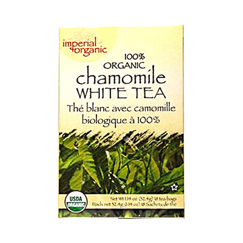 Uncle Lee's Organic Chamomile White Tea (1x18 Tea Bags)