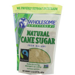Wholesome Sweetners Fair Trade Natural Cane Sugar ( 12x1.5lb)