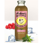 Hubert's Lemonade Hlf/HLeaf Raspberry (12x16OZ )
